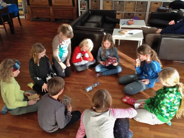 Party games for 8 to 12 year olds - Spin the bottle