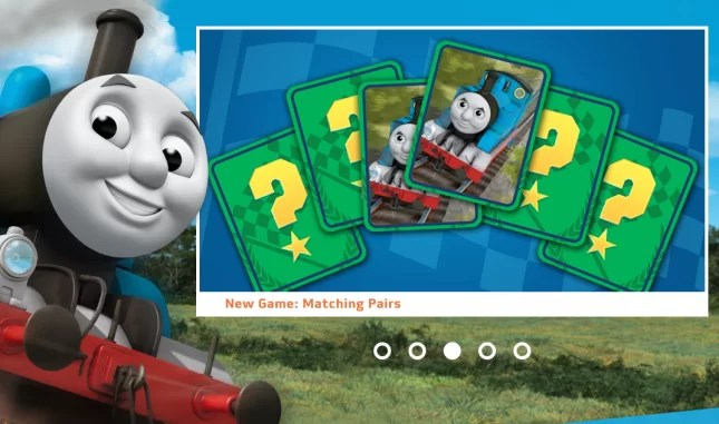 Best free maths games for kids-Thomas and friends