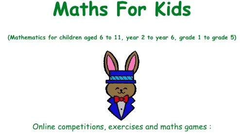 free maths games for kids-Maths for kids