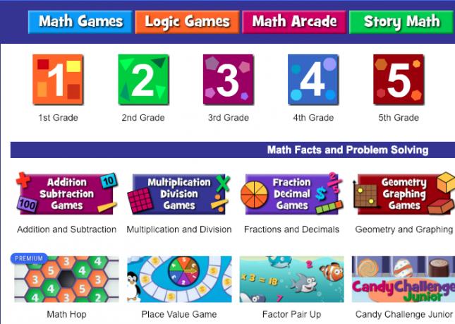 free online maths games for kids-Math Playground