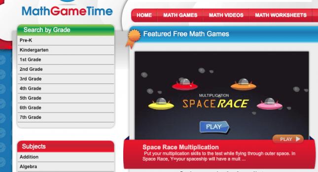 best free online maths games-Math Games Time