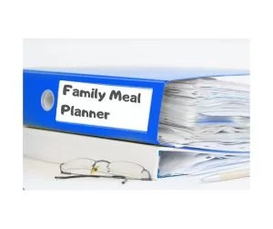 Meal Planning for Hungry Households-Binder