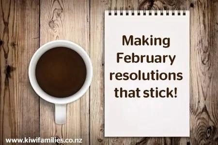 February resolutions