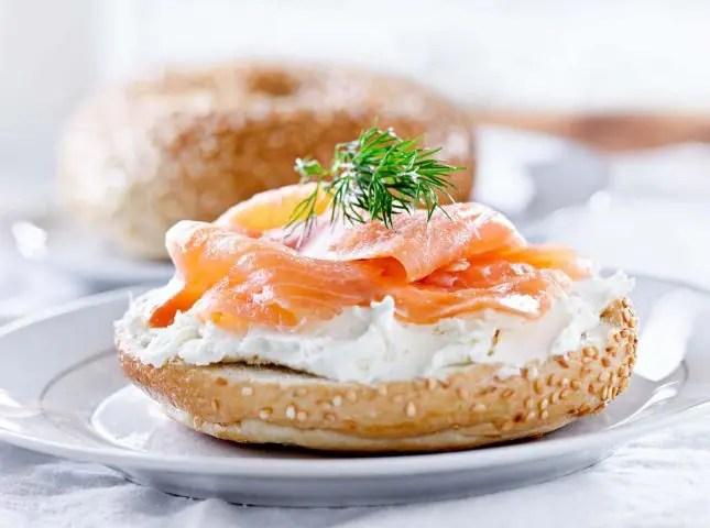 bagels-slamon-cream-cheese