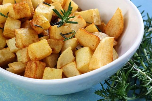 Lemon roast potato
