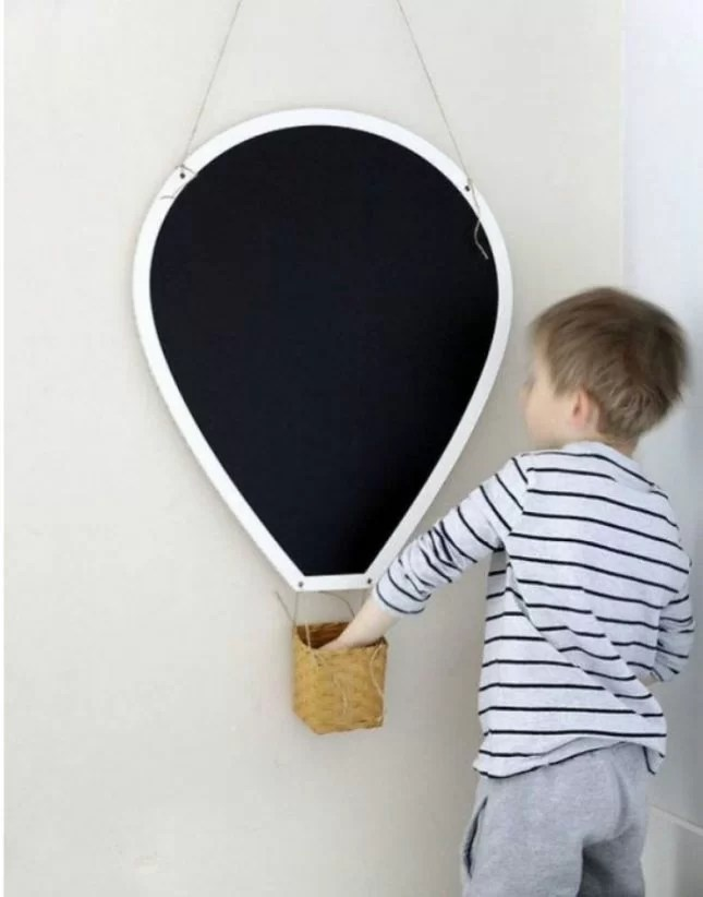 Diy blackboard cloud and electric blue lightening bolt kiwi families - Good reasons need redecorate ...