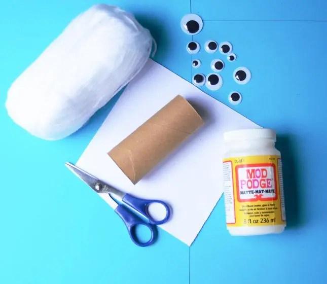toilet roll mummy materials