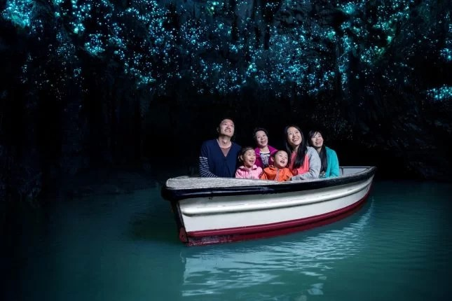Roadtrip ideas with kids-Waitomo Caves