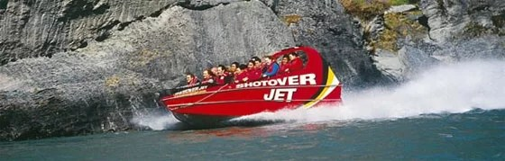 Queenstown with Kids-Shotover Jet