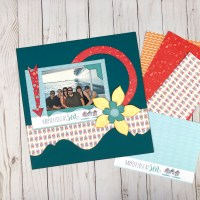 Using Pocket Paper Kits on 12x12 Pages