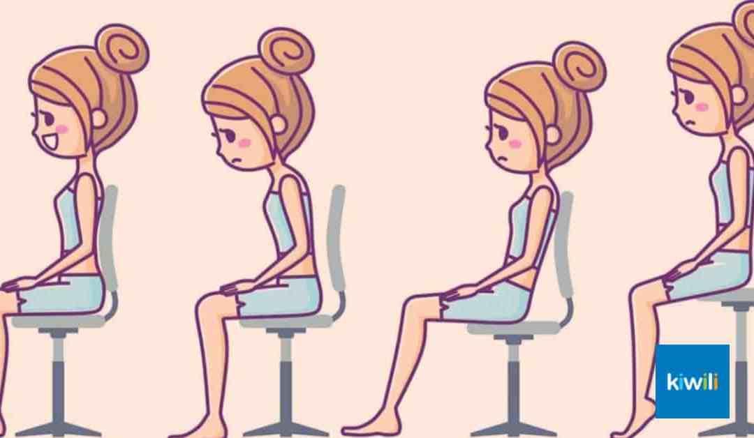 10 commandements d'une bonne posture au bureau !