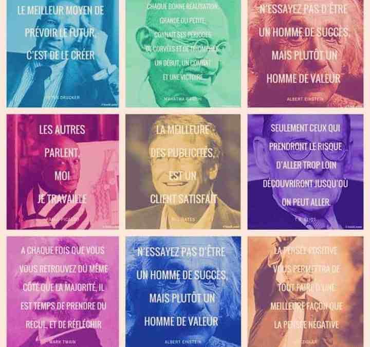 10 citations inspirantes pour les créateurs d'entreprises