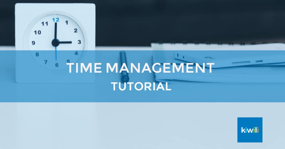 Easy Time Management with Kiwili