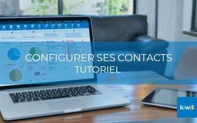 Configurer vos contacts avec le CRM de Kiwili