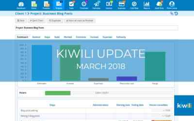 Kiwili Update: What's New in March 2018