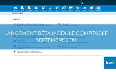 Maintenant disponible : le nouveau module comptable (version bêta)