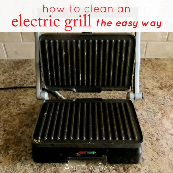 How to Clean an Electric Grill {The Easy Way}