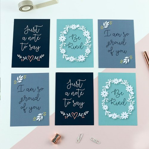 Just a Note To Say Postcard Set (Set of 6)