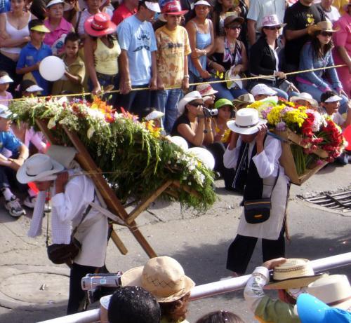 Träger der Blumen