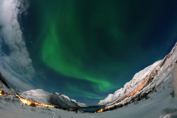 Northern Lights close to Tromso