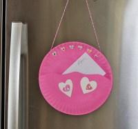 Paper Plate Valentine Note Pocket  Kix Cereal