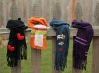 Dollar Store Craft: 4 No-Sew Scarf Embellishments for Kids ...