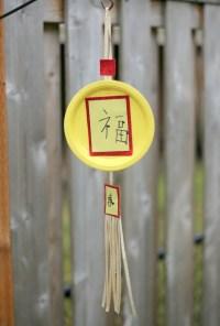 Dollar Store Craft: Chinese New Year Paper Plate Lantern ...