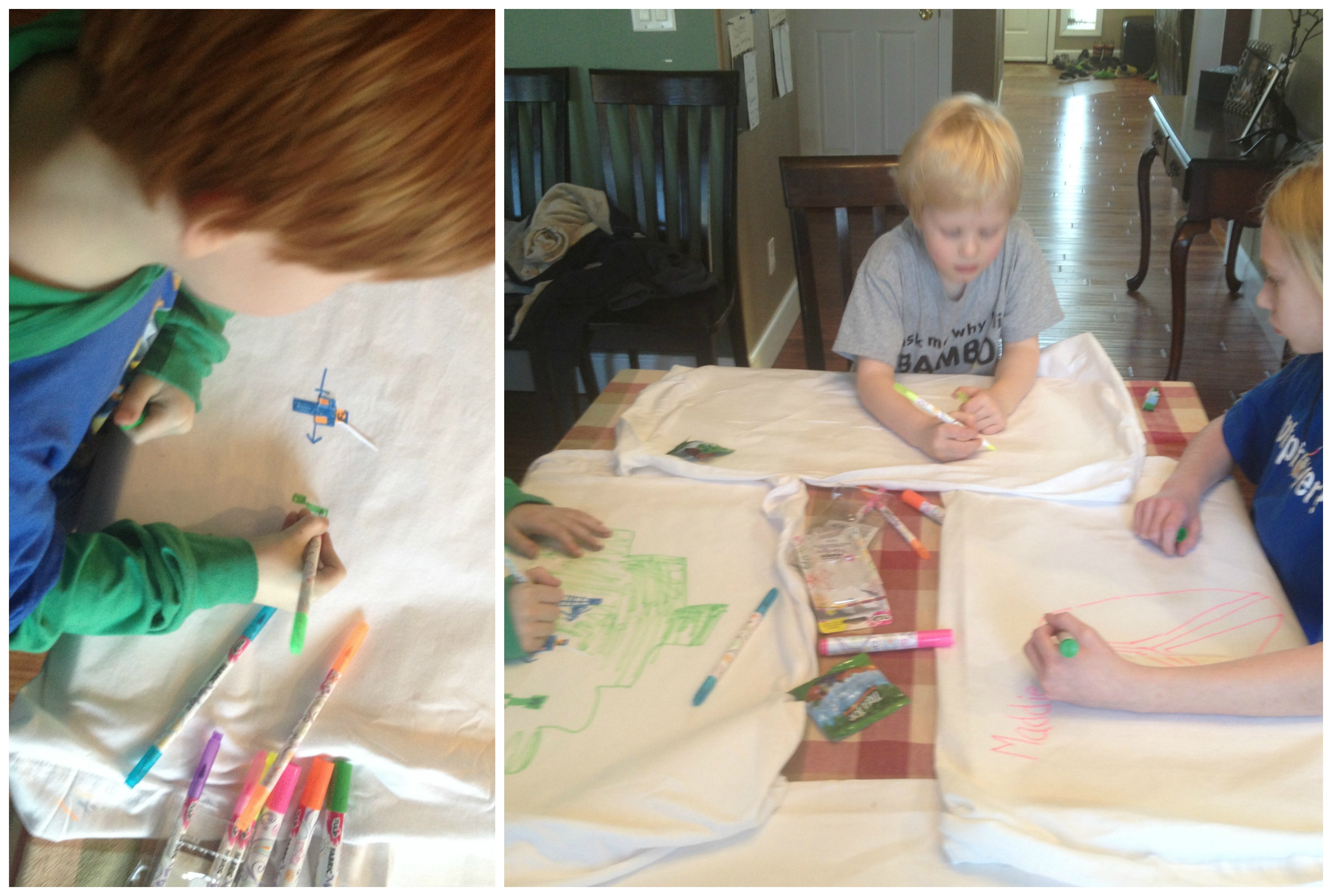 personalize a pillowcase kid s party