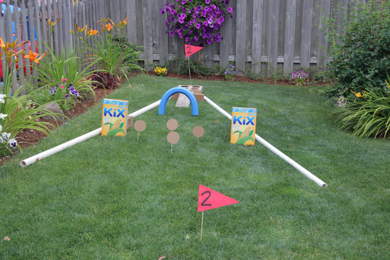 Outdoor Fun Backyard Mini Golf Course Kix Cereal