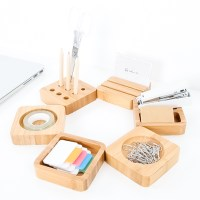 Wood Crafted Stationery Holders  KIYOLO