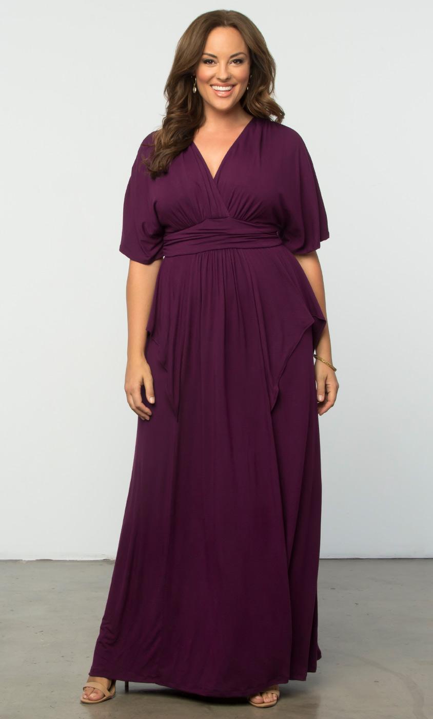 Indie Flair Maxi Dress Kiyonna Clothing