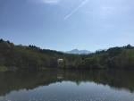 竜神池から八ヶ岳