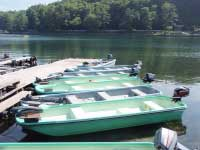 木崎湖モダンボートFRP14ft