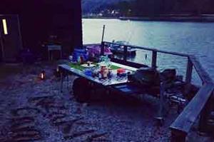 木崎湖モダンボートバンガロー