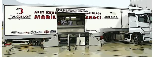 kitchen trailers pantry ideas turk kizilay mobile donation donate