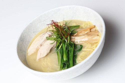 Chicken rich ramen