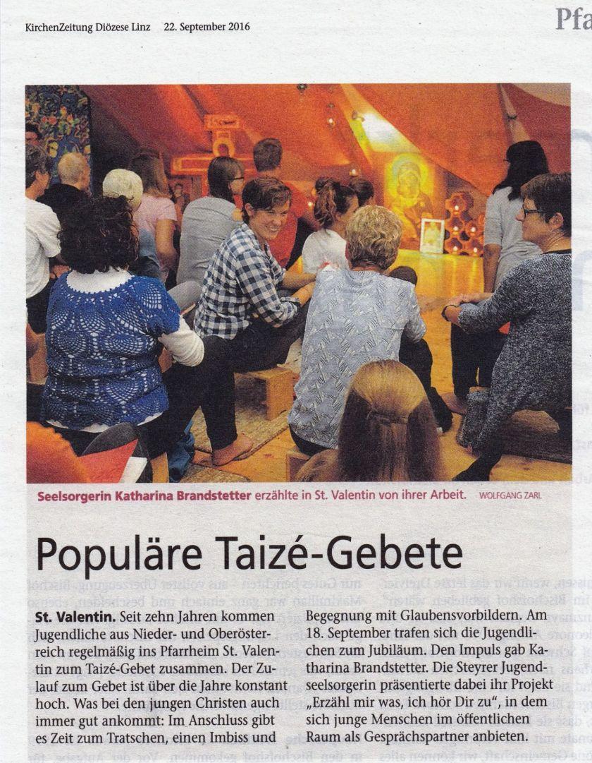 taizegebetoeokirchenzeitung2016
