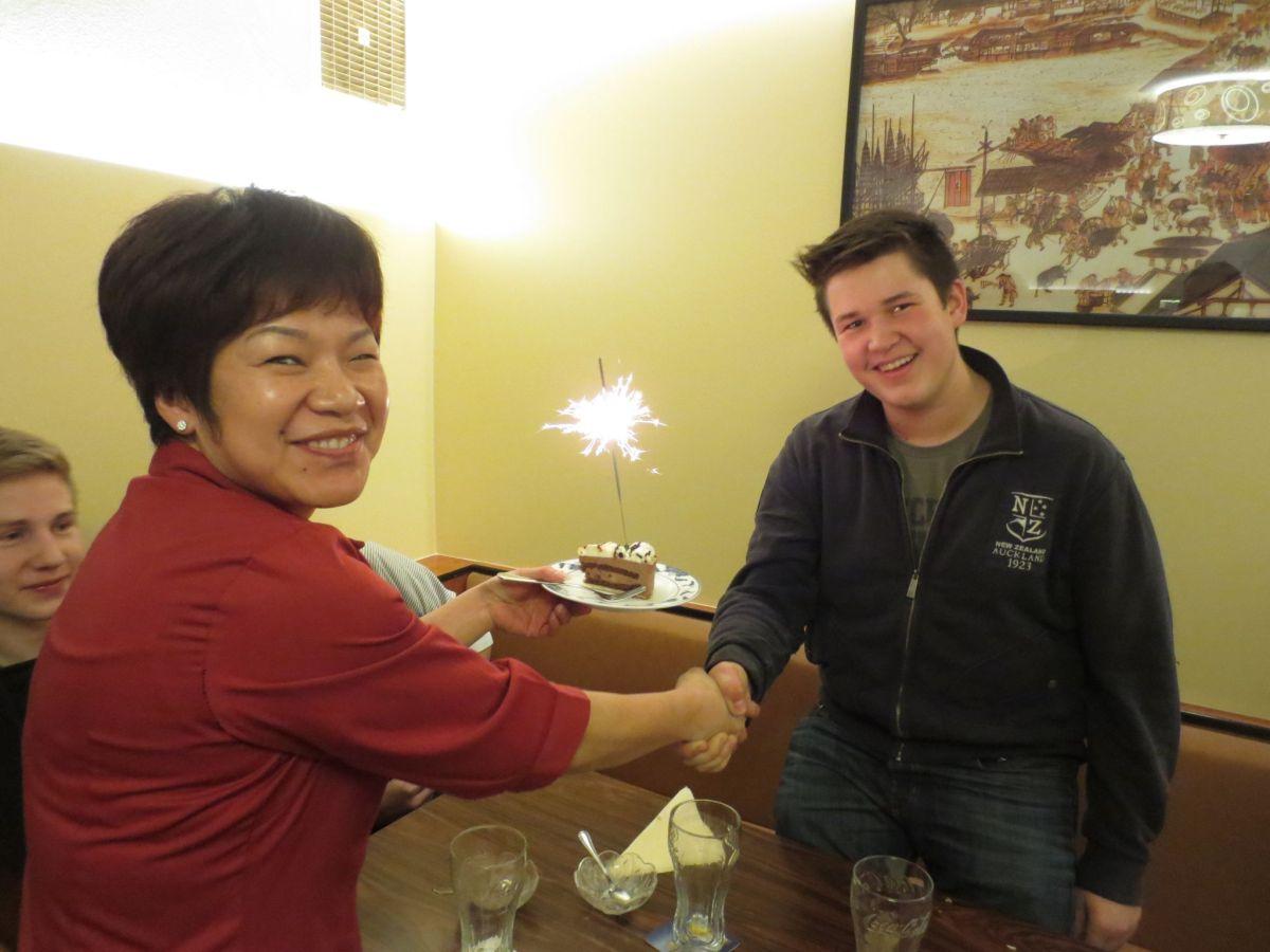 Tabor-Jugendmesse mit 17ener Geburtstagsfeier für Markus