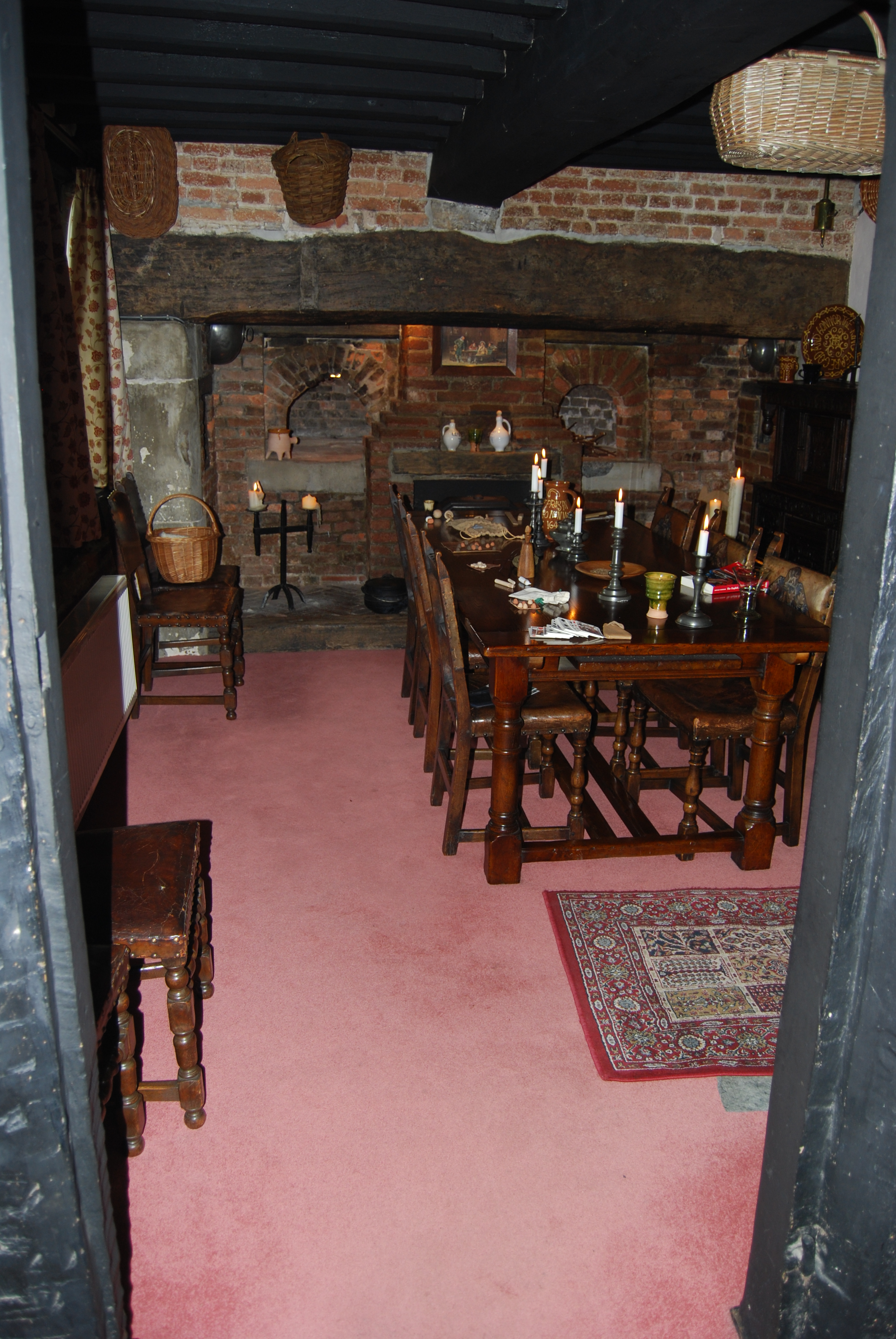 kitchen chairs commercial faucets in at the ground floor: exploring a 17th century home ...