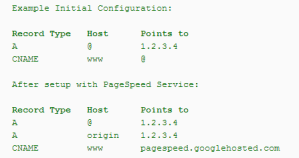 kjc PageSpeed Service DNS CNAME change - kjc - PageSpeed Service - DNS CNAME change