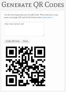 kjc Generate QR Codes - kjc - Generate QR Codes