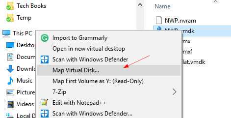 4 Ways to Mount a VMDK Image File in Windows | KC's Blog