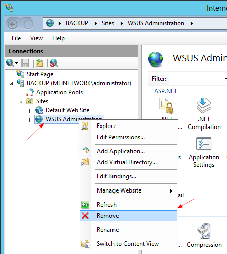 Fixing Failed to Start and Configure the WSUS Service in
