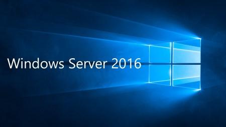 Windows Server 2016 - Windows Server 2016