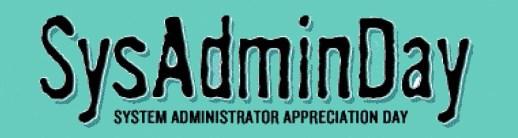 cropped SysAdminDay Header Logo1 - Happy SysAdmin Day 2017