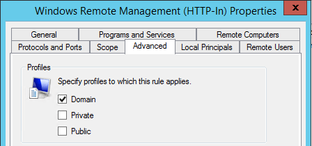 Group Policy Rule to remove Private - How To Enable WinRM with Domain Group Policy for PowerShell Remoting