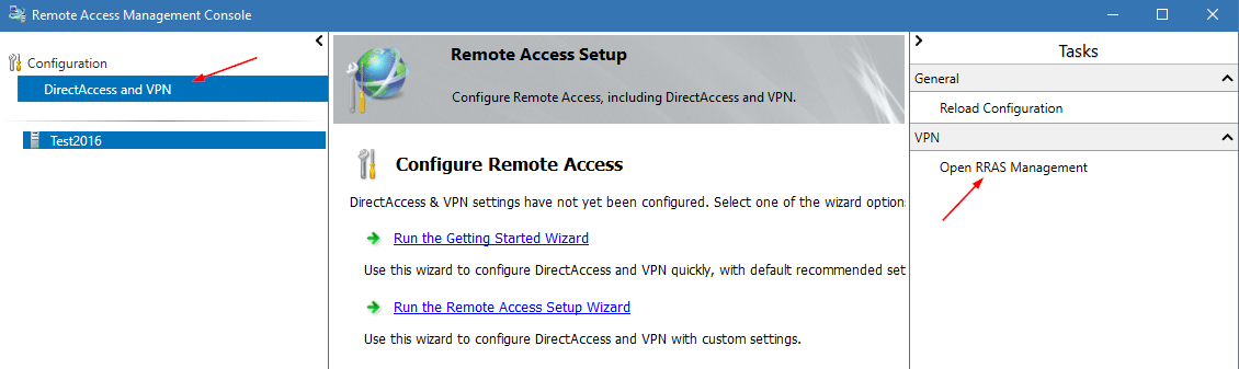 Install and Configure Route and Remote Access Service on Server Core