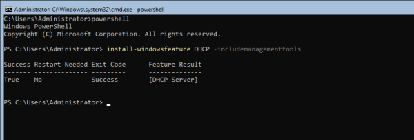 Server 1 on TEST2016 Virtual Machine Connection 2018 01 23 10 52 45 600x204 - Setting Up Active Directory, DNS, and DHCP on Server Core using PowerShell