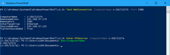 How To Enable WinRM with Domain Group Policy for PowerShell Remoting