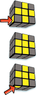 Rubiks Cube Step 4 face states - Rubiks Cube - Step 4 - face states